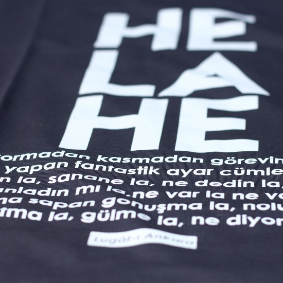 T-Lugat-ı Ankara - He la he